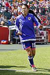 Homare Sawa (JPN), JULY 1, 2015 - Football / Soccer : FIFA Women's World Cup Canada 2015 Semir-final match between Japan 2-1 England at Commonwealth Stadium in Edmonton, Canada. (Photo by Yusuke Nakanishi/AFLO SPORT)