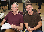 "Mark Brokaw and Spencer Liff In Rehearsal with the Kennedy Center production of ""Little Shop of Horrors"" on October 11 2018 at Ballet Hispanica in New York City."