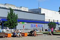 Zentrum von Palanga, Litauen, Europa