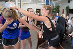 GER - Mannheim, Germany, May 28: During the celebrations of the Deutsche Meister Mannheimer HC following the Final4 tournament May 28, 2017 at Am Neckarkanal in Mannheim, Germany. (Photo by Dirk Markgraf / www.265-images.com) *** Local caption ***<br /> <br /> Ladies: Winner - UHC Hamburg, Runner-up - Mannheimer HC<br /> Gents: Winner - Mannheimer HC, Runner-up - Rot-Weiss Koeln