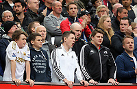 Pictured: Swansea City supporters.<br />