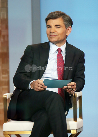 Aprl 06, 2021. George Stephanopoulos at Good Morning America in New York April 06, 2021 Credit:RW/MediaPunch