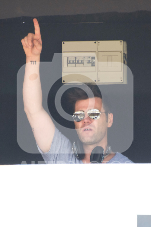 30.06.2012. Concert ´Fonsi Nieto´during Rock in Rio Festival 2012 in Madrid. (Alterphotos/Marta Gonzalez)