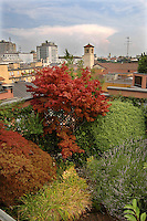 Milano, giardino pensile