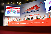 The Independent High Electoral Commission  announced the preliminary results of the legislative elections held on Sunday (October 6th) to elect members of the new parliament Tunis on October 9, 2019