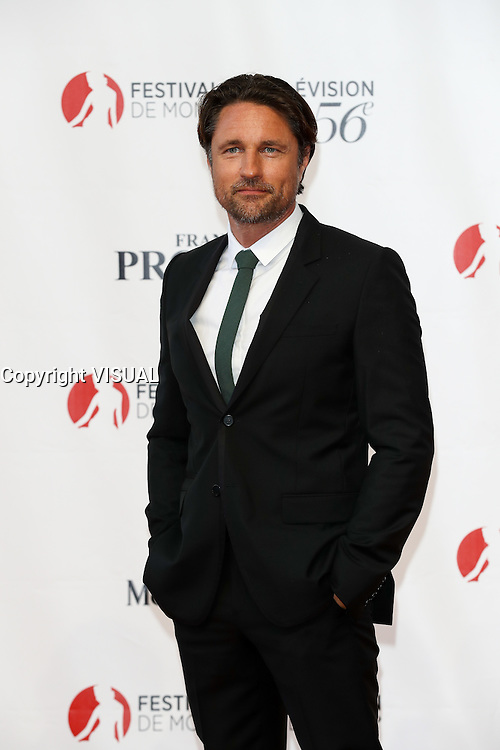 56th Monte-Carlo Television Festival opening red carpet. Martin Henderson.