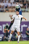 Geoffrey Kondogbia of FC Internazionale Milano competes for the ball with Isco of Real Madrid CF during the FC Internazionale Milano vs Real Madrid  as part of the International Champions Cup 2015 at the Tianhe Sports Centre on 27 July 2015 in Guangzhou, China. Photo by Aitor Alcalde / Power Sport Images