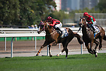 SHA TIN,HONG KONG-APRIL 30: Eagle Way #3,ridden by Joao Moreira,wins the Queen Mother Memorial Cup at Sha Tin Racecourse on April 30,2017 in Sha Tin,New Territories,Hong Kong (Photo by Kaz Ishida/Eclipse Sportswire/Getty Images)