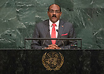 72 General Debate – 20 September <br /> <br /> by His Excellency Gaston Alphonso Browne, Prime Minister and Minister of Finance and Corporate Governance of Antigua and Barbuda