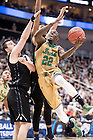 Mar. 21, 2015; Jerian Grant (22) shoots in the third round game of the NCAA Tournament. Notre Dame defeated Butler 67-64 in overtime. (Photo by Matt Cashore/University of Notre Dame)