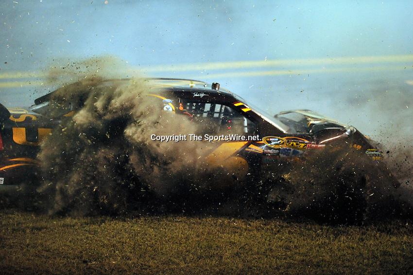 Feb 07, 2009; 8:34:26 PM;  Daytona Beach, FL. USA; NASCAR Sprint Cup Series race at the Daytona International Speedway for the  Budweiser Shootout.  Mandatory Credit: (thesportswire.net)