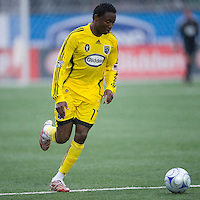 02 May 2009: Columbus Crew midfielder Emmanuel Ekpo #17 in action at BMO Field in a game between the Columbus Crew and Toronto FC. .The game ended in a 1-1 draw..