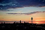 Liverpool Skyline Sunset