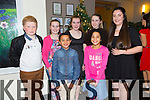 Fionn Diaro, Caoimhe Diaro, Jack Walsh, Kate Moriarty, Laura Devane, Sheana Moriarty, Rebecca Devane at the St. Pats Blennerville Strictly come Dancing fundraiser at Ballyroe Heights Hotel on Friday