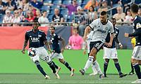 FOXBOROUGH, MA - JUNE 26: Haris Medunjanin #6 during a game between Philadelphia Union and New England Revolution at Gillette Stadium on June 26, 2019 in Foxborough, Massachusetts.
