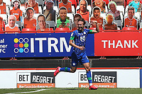 Kieran Dowell celebrates scoring Wigan's second goal during Charlton Athletic vs Wigan Athletic, Sky Bet EFL Championship Football at The Valley on 18th July 2020