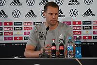 Kapitän Torwart/Goalie Manuel Neuer (Deutschland Germany) - Stuttgart 30.08.2021: Pressekonferenz der Deutschen Nationalmannschaft, Waldau Park Stuttgart
