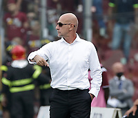 2nd October 2021; Arechi Stadium, Salerno, Italy; Serie A football, Salernitana versus Genoa : Davide Ballardini coach of Genoa