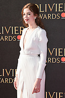 Charlotte Hope<br /> arriving for the Olivier Awards 2017 at the Royal Albert Hall, Kensington, London.<br /> <br /> <br /> ©Ash Knotek  D3245  09/04/2017