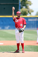 Anthony Haase, Cochise College playing at South Mountain Community College, Phoenix, AZ - 05/01/2010.Photo by:  Bill Mitchell/Four Seam Images.