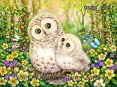 Kayomi, CUTE ANIMALS, LUSTIGE TIERE, ANIMALITOS DIVERTIDOS, paintings+++++,USKH288,#ac#, EVERYDAY