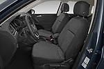 Front seat view of 2021 Volkswagen Tiguan Elegance 5 Door SUV Front Seat  car photos