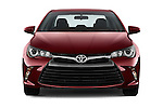 Car photography straight front view of a 2017 Toyota Camry 2.5-Auto-LE 4 Door Sedan Front View