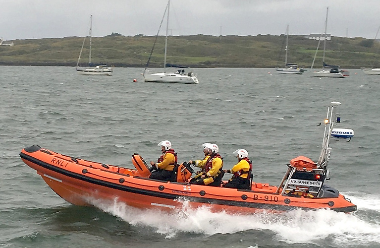 The Baltimore RNLI inshore lifeboat