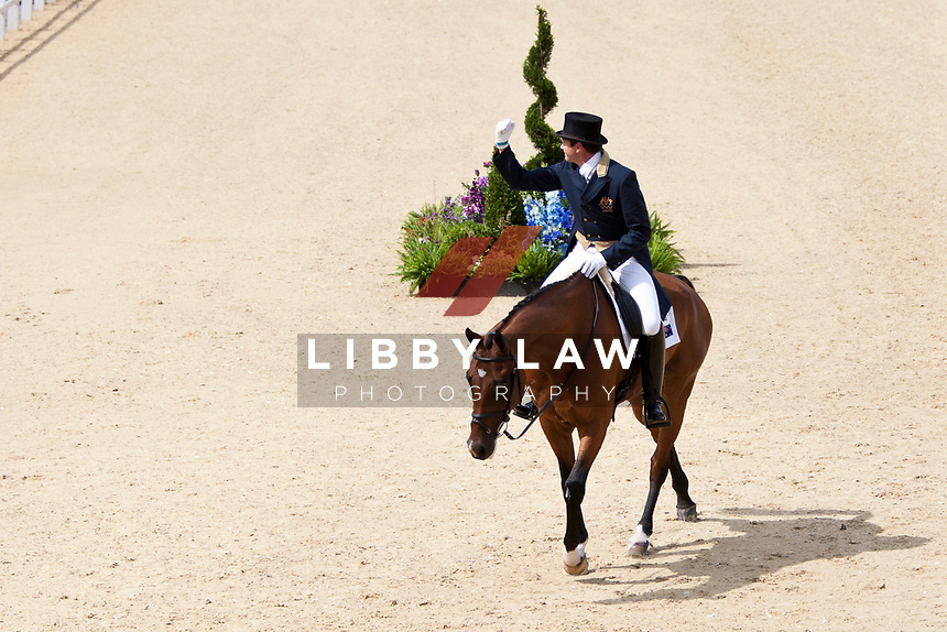 AUS-Clayton Fredericks (BENDIGO) 2012 LONDON OLYMPICS (Sunday 29 July 2012) EVENTING DRESSAGE: INTERIM-10TH (40.40)