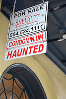 Haunted--a feature, not a problem. At least in New Orleans! By Art Harman. Be sure your top selling points are highlighted on your property too!