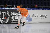 SCHAATSEN: HEERENVEEN: 10-10-2020, KNSB Trainingswedstrijd, Jeroen Vos, ©foto Martin de Jong