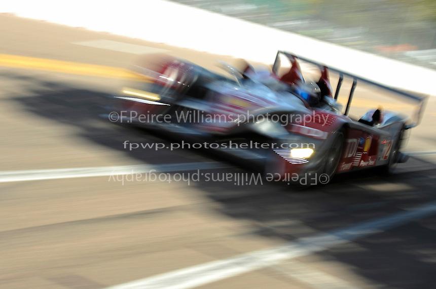4-5 April 2008, St Petersburg, Florida, USA.Lucas Luhr, Audi R10/TDI .©2008 F.Peirce Williams, USA .