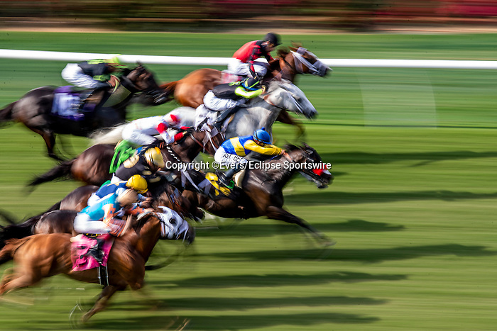 JULY 17, 2021: A Blanket finish at Del Mar Fairgrounds in Del Mar, California on July 17, 2021. Evers/Eclipse Sportswire/CSM