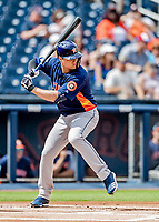 27 February 2019: Houston Astros shortstop Aledmys Diaz in pre-season action against the Washington Nationals at the Ballpark of the Palm Beaches in West Palm Beach, Florida. The Nationals defeated the Astros 14-8 in their Spring Training Grapefruit League matchup. Mandatory Credit: Ed Wolfstein Photo *** RAW (NEF) Image File Available ***