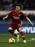 Football, Serie A: AS Roma - Torino, Olympic stadium, Rome, January 19, 2019. <br /> Roma's Stephan El Shaarawy in action during the Italian Serie A football match between AS Roma and Torino at Olympic stadium in Rome, on January 19, 2019.<br /> UPDATE IMAGES PRESS/Isabella Bonotto
