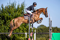 ESP-Eduardo Via-Dufresne rides Maribera Pomes 15.6 during the Jumping for the CCIO4*-S. FRA-Le Grand Complet - Haras du Pin FEI Nations Cup Eventing. Le Pin au Haras. Normandie. France. Saturday 14 August 2021. Copyright Photo: Libby Law Photography