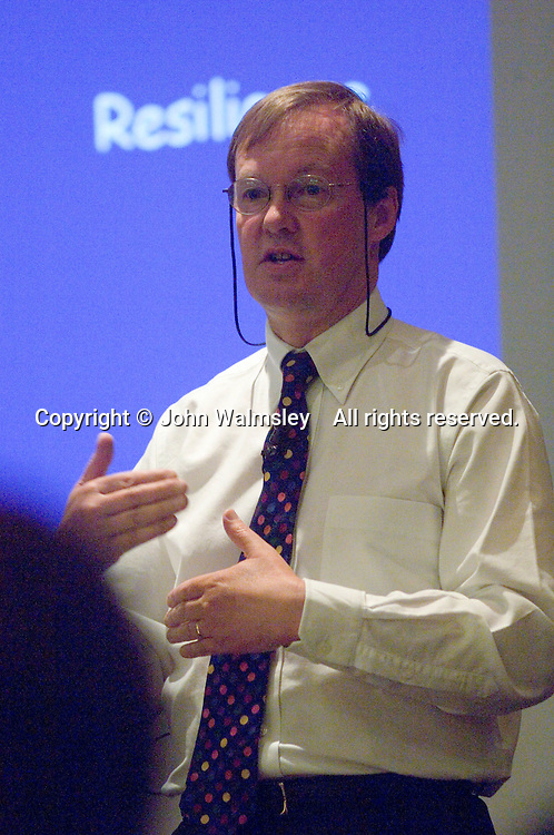 Bill Lucas giving a presentation at a Teaching Expertise Conference in Birmingham