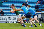 Paul Geaney, Kerry in action against David Byrne, Dublin during the Allianz Football League Division 1 South between Kerry and Dublin at Semple Stadium, Thurles on Sunday.