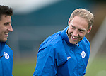 St Johnstone Training….14.10.16<br />Steven Anderson and Michael Coulson pictured in training this morning atr McDiarmid Park ahead of tomorrows game against Kilmarnock<br />Picture by Graeme Hart.<br />Copyright Perthshire Picture Agency<br />Tel: 01738 623350  Mobile: 07990 594431