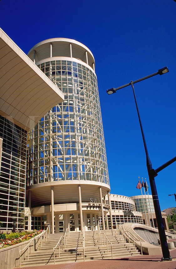 The Salt Palace Convention Center, Salt Lake City, Utah