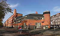 Nederland  Amsterdam  2020.  Het Schip in de Zaanstraat, gebouwd in Amsterdamse School stijl. De Voorzijde is museum. Dit museum was vroeger een postkantoor. Het gebouw is ontworpen door Michel de Klerk .  Foto : ANP/ HH / Berlinda van Dam