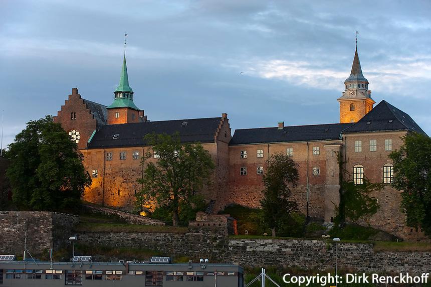 Norwegen, Oslo, Akershus Slott