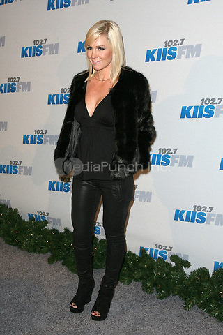 LOS ANGELES, CA - DECEMBER 01: Jennie Garth at KIIS FM's 2012 Jingle Ball at Nokia Theatre L.A. Live on December 1, 2012 in Los Angeles, California. Credit: mpi21/MediaPunch Inc.