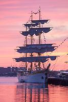 Mircea , Tall Ships, Fish Pier,  Boston Harbor, Boston, MA (dawn)