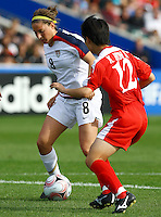 Vicki DiMartino (USA)..FIFA U17 Women's World Cup Final, USA v Korea DPR, Albany Stadium, Auckland, New Zealand, Sunday 16 November 2008. Photo: Renee McKay/PHOTOSPORT