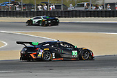 IMSA WeatherTech SportsCar Championship<br /> AMERICA'S TIRE 250<br /> Mazda Raceway Laguna Seca<br /> Monterey, CA USA<br /> Saturday 24 September 2017<br /> 93, Acura, Acura NSX, GTD, Andy Lally, Katherine Legge<br /> World Copyright: Richard Dole<br /> LAT Images<br /> ref: Digital Image RD_LS_17_338