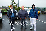 Attending the Blennerville Car and Tractor Run fundraiser for Kerry Hospice on Sunday, l to r: Nathan Fealy (Castleisland), Brendan Creagh (Tralee) and Anthony Begley (Castleisland)