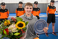 Amstelveen, Netherlands, 22 Augustus, 2020, National Tennis Center, NTC, NKR, National  Wheelchair Tennis Championships, Junior Boys single:   Maarten ter Hofte (NED) winner<br /> Photo: Henk Koster/tennisimages.com