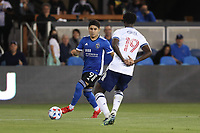 SAN JOSE, CA - AUGUST 13: Javier Lopez #9 of the San Jose Earthquakes during a game between Vancouver Whitecaps and San Jose Earthquakes at PayPal Park on August 13, 2021 in San Jose, California.