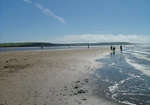 Duncannon Beach on Co Wexford